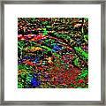 Brook Texture Z 10 Framed Print