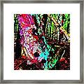 Brook Texture Z 3 Framed Print