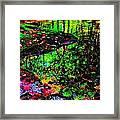 Brook Texture Z 8 Framed Print