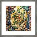 Brother Turtle Vi Framed Print