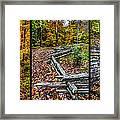 Brown County Park Framed Print