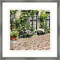 Brugge Balcony Framed Print