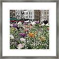 Brugge In Spring Framed Print