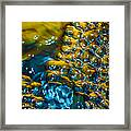 Bubble Water Art Framed Print