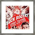 Buck Rogers, Bottom Larry Crabbe Framed Print