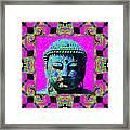 Buddha Abstract Window 20130130p0 Framed Print