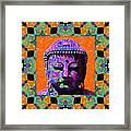 Buddha Abstract Window 20130130p85 Framed Print by Wingsdomain Art and Photography
