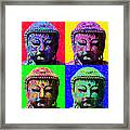 Buddha Four 20130130 Framed Print by Wingsdomain Art and Photography