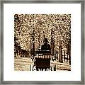 Buggy Ride Framed Print by Joan Davis