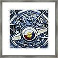 Buick Skylark Wheel Framed Print