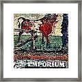 Bull Durham Framed Print
