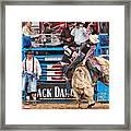 Bull Rider Framed Print