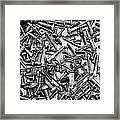 Bunch Of Screws 3- Digital Effect Framed Print