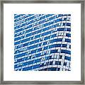 Business Skyscrapers Modern Architecture Framed Print by Michal Bednarek