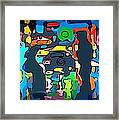 Busy Streets Downtown Framed Print