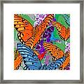 Butterfly Joy Framed Print
