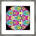 Butterfly Mandala Framed Print