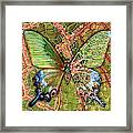 Butterfly Mosaic 03 Elena Yakubovich Framed Print
