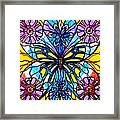 Butterfly Framed Print by Teal Eye  Print Store