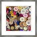 Buttons 671 Framed Print