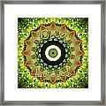 Buy Local Green 1 Framed Print