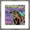 By The Horns Framed Print