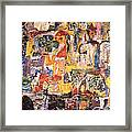 Byzantine Characters #1 Framed Print by Richard Baron
