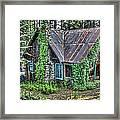 Cabin At Cooks Station Framed Print