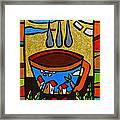 Cafe Criollo  Framed Print