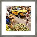 Calcutta - India Framed Print
