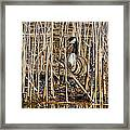 Camouflaged Canada Goose Framed Print
