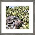 Camouflaged Car Framed Print