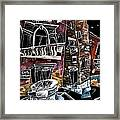 Campo San Boldo - Arte Moderna Contemporanea Di Venezia Framed Print by Arte Venezia
