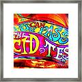 Can You Pass Framed Print