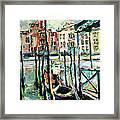 Canale Grande 2 Framed Print