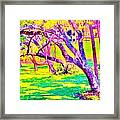 Candied Golf Game Framed Print