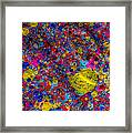 Candy Colored Blast Framed Print