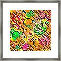 Candy - Lolly Pop Abstract  Framed Print