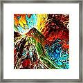 Candy Moutain Framed Print by Bernard MICHEL