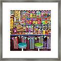 Candy Shop Framed Print