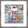 Candy Window Framed Print