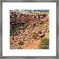 Canyon At Calf Creek Framed Print