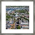 Capital Of Maryland In Annapolis Framed Print