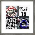 Speed Demon Art For Boys And Men Framed Print