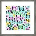 Carefree Butterflies Framed Print