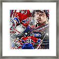 Carey Price Framed Print by Mike Oulton