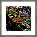 Carnival - Midway West Framed Print