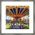 Carnival - Super Swing Ride Framed Print