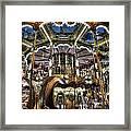 Carousel At Hotel Deville Framed Print