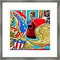 Carousel Chariot Framed Print